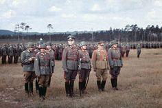 Agfa color color dia general española Division azul prestara juramento Grafenwöhr 1941 http://vi.vipr.ebaydesc.com/ws/eBayISAPI.dll?ViewItemDescV4