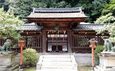 Nagara-jinja 1300年の歴史を持つ長等神社
