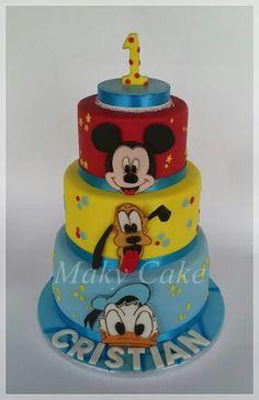 Topolino paperino pluto torta mickey mouse cake