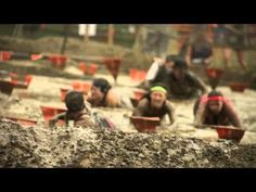 VIDEO: Merrell Down U0026 Dirty Obstacle Race Presented By Subaru Los Angeles  2013   YouTube · Rugged ManiacObstacle ...