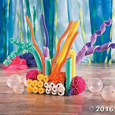 Recreate the beauty of coral reef in your VBS classroom this summer as you celebrate an Under the Sea adventure. Using craft supplies, pool noodles and your ...