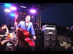 ▶ The Stray Cat Lee Rocker playing his Classic Hits - YouTube