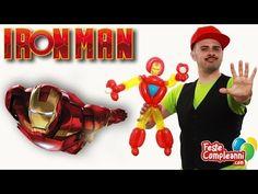 Iron Man Balloon - Scultura con Palloncini - Tutorial 93 - Feste Compleanni - YouTube