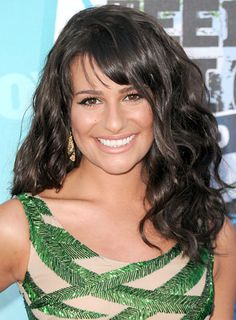 Google Image Result for http://images.beautyriot.com/photos/lea-michele-bangs-curly-brunette.jpg