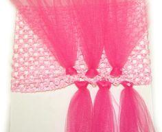 How to Make Multi-Layer Tutu Dress - use crochet headband!
