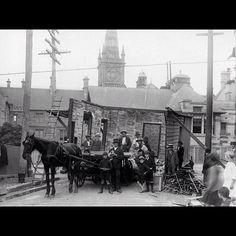 Brown St & Missenden Rd, Camperdown, in 1916.