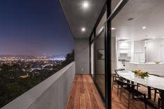 Casa com vista de para Los Angeles e Estac no Telhado