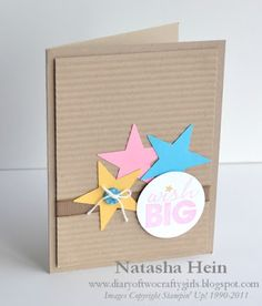 Stampin Up! - Natasha @ Diary of Two Crafty Girls