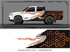 Similar Images Stock Photos & Vectors of Truck Graphic. Abstract modern lines graphic design for truck and vehicle wrap and branding stickers 1062326225 Holden Colorado, Drift Trike, Jeep Cars, Truck Design, En Stock, Car Wrap, Illustrations, Custom Paint, Vinyl Decals
