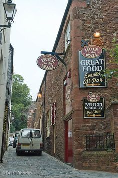The Hole in the Wall, Little Castle Street, Exeter, Devon