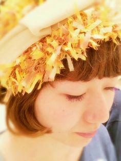 ヘアアレンジ~帽子屋のはるちゃん★