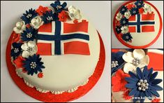 4th Of July Wreath, Most Beautiful, Celebrities, Norway, Cakes, Baking, Celebs, Cake Makers, Kuchen