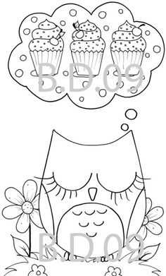 Cute Owl Coloring Pages   Topic: Colouring pages owl themed Updated 2011!!! (Read 6216 times)