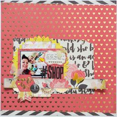 #Shop layout by Tracy Banks, using the Scraptastic Club Ain't No Sunshine Kit and Add-on