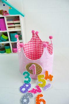 Corona de Cumpleaños Digna de una Princesa! | <hr><hr>