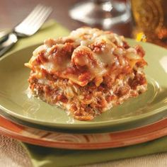 Been using this recipe for my lasagna for years. Trust me, best recipe ever! My family wont let me try any other recipes.. I wont try any other recipes. A hit!