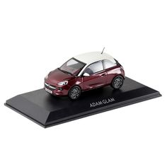 "So cute! The ADAM Glam in ""Berry Red"" http://www.opel-collection.com/Model-Cars/Opel-ADAM-GLAM-1-43-Purple-Fiction::42.html"