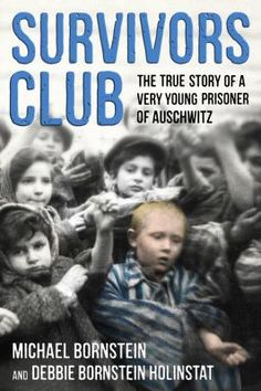Survivors Club: The True Story of a Very Young Prisoner of Auschwitz by Michael #Bornstein In 1945, in a famous piece of WWII archival footage, 4 yr Michael was filmed by Soviet soldiers as he was carried out of Auschwitz in his grandma's arms. Survivors Club tells the story of how a father's courageous wit, a mother's fierce love, & one perfectly timed illness saved his life, & how others in his family from Poland, dodged death at the hands of the Nazis time & again. #MedinaLibrary…