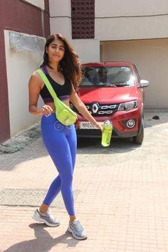 Pooja Hegde seen at Bandra Bollywood Actress Hot Photos, Indian Bollywood Actress, Bollywood Girls, Beautiful Bollywood Actress, Beautiful Indian Actress, Tamil Actress, Actress Photos, Beautiful Women, Pokemon