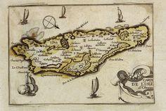 Carte de l'Isle d'Oleron.    Auteur : Tassin, Christophe (1...-16.. ) Date : 1634  Taille : 1936x1304 (0.4 MO)  Origine : BNF