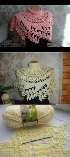 f97a1aa24 184 Best capes images in 2019 | Crochet patterns, Yarns, Crochet poncho