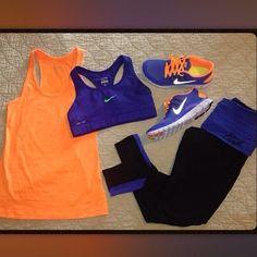 My kinda bronco workout outfit!