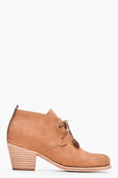 camel leighton desert booties ▲ rag & bone ~ would love these if they were slip ons