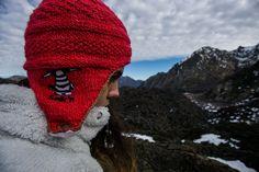 Nuestros queridisimos gorros Kominken siguen sumando inviernos y aventuras.