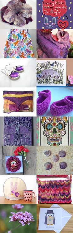 Purple Passion by Ellie Dale on Etsy--Pinned with TreasuryPin.com