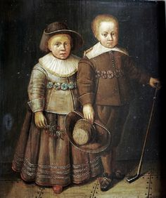 """""""Portrait of Two Brothers"""" by Wybrand de Geest (1635)"""