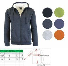 59ee348b6 Activewear 185099: Men S Heavy Fleece Lined Sherpa Hoodie Plaid ...