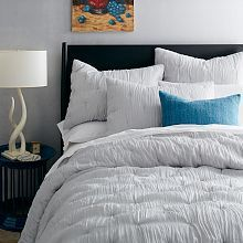 stella quilt and shams platinum west elm - Comphy Sheets