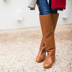 If You Invest in Flat Boots This Winter, Make it a Knee-High Pair