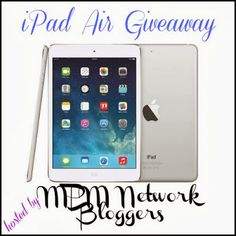 Monicas Rants Raves and Reviews: iPad Air Giveaway! Ends December 12!