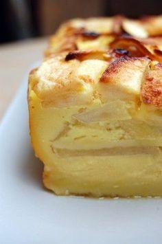 Gâteau tout simple avec plein de pommes..., Recette Ptitchef