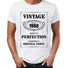 >> Click to Buy << 2017 New Pure Cotton Sleeves Hip Hop Fashion T Shirt Gildan Made In 1966 Born 50Th Year Birthday Age Present Vintage Men #Affiliate
