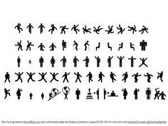 Man & woman sign pictograms
