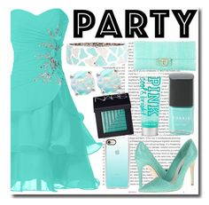 """""""Party!"""" by emmy-124fashions ❤ liked on Polyvore featuring Oris, Alice + Olivia, Salvatore Ferragamo, Casetify, Roberto Coin, Giani Bernini, Torrid, NARS Cosmetics and party"""