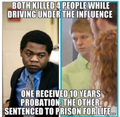 This is the Difference with a Broken Justice System; And It Should Make Everyone Sink And Outraged!!!