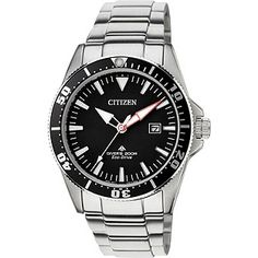 Buy Citizen Mens' Eco-Drive ISO Certified Divers Bracelet Watch at Argos.co.uk, visit Argos.co.uk to shop online for Men's watches