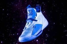 brand new 47f3e 59da6 unc tar heels air jordan 33 pe 2018 footwear jordan brand white university  of north carolina