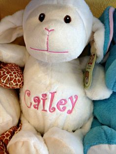 Personalized Stuffed Animal Perfect Baby by TeesIntoTreasures 901a21f3ad6a