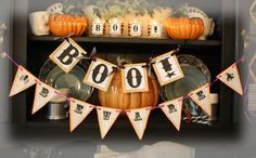 Halloween...... e-kit. to be printed again and again!
