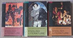 For sale: The Norton Anthology English Literature 3 Volume SetVolume A:  The Middle AgesCopyright 2006, 8th EditionISBN:  9780393927177I found thre...