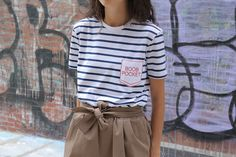 Shopping PSA: Être Cecile and I Are Making T-Shirts | Man Repeller Boob pocket <3