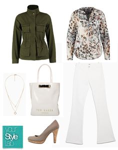 Your Style Lab |  City chic look voor brede schouders
