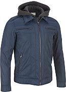 Wilsons Leather Shirt-Collar Jacket w/ Detachable Hood - Wilsons Leather