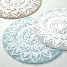 Awesome Large Round Bathroom Rugs Arts Beautiful And 62 Most Splendid