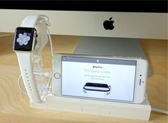 Everything is awesome with this Apple Watch stand made of LEGO