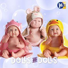 Baño con #Berenguer ! El mejor momento del día es cuando llega la hora del baño para nuestras muñecas bebé favoritas! :D #muñecas #baño #bebe #babydoll